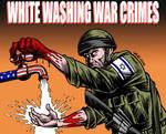White washing war crimes