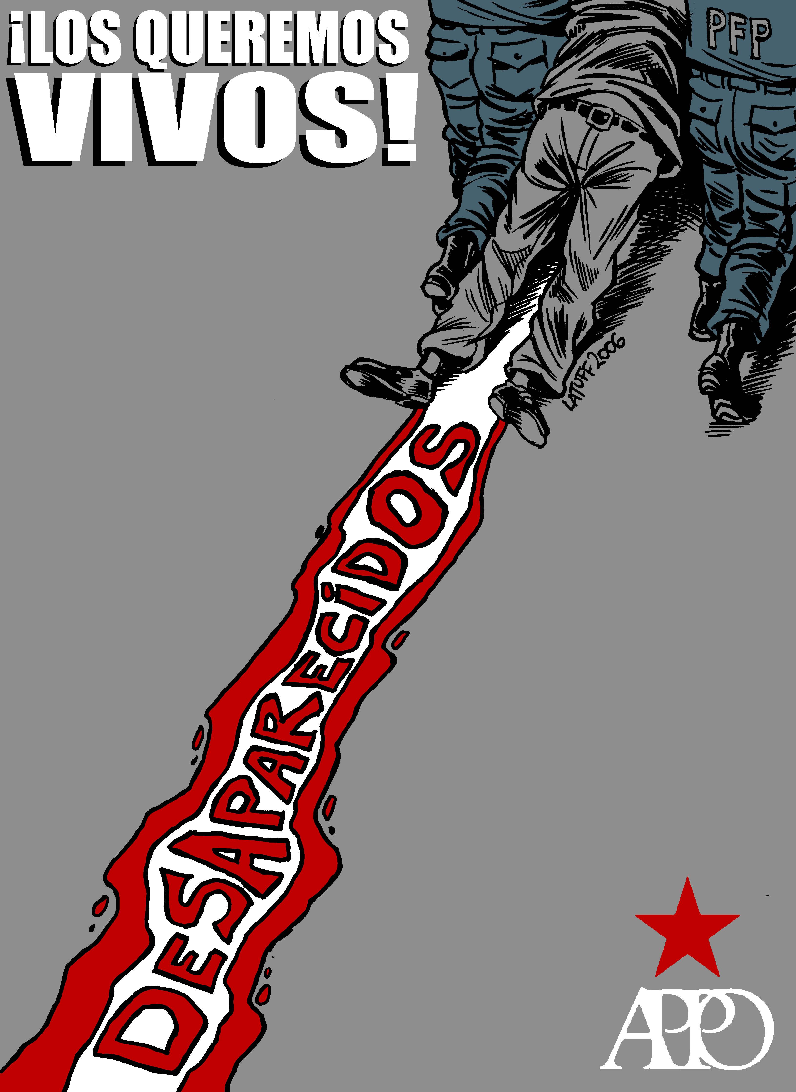 Desaparecidos by Latuff2 on DeviantArt