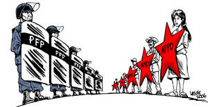 La represion y la resistencia