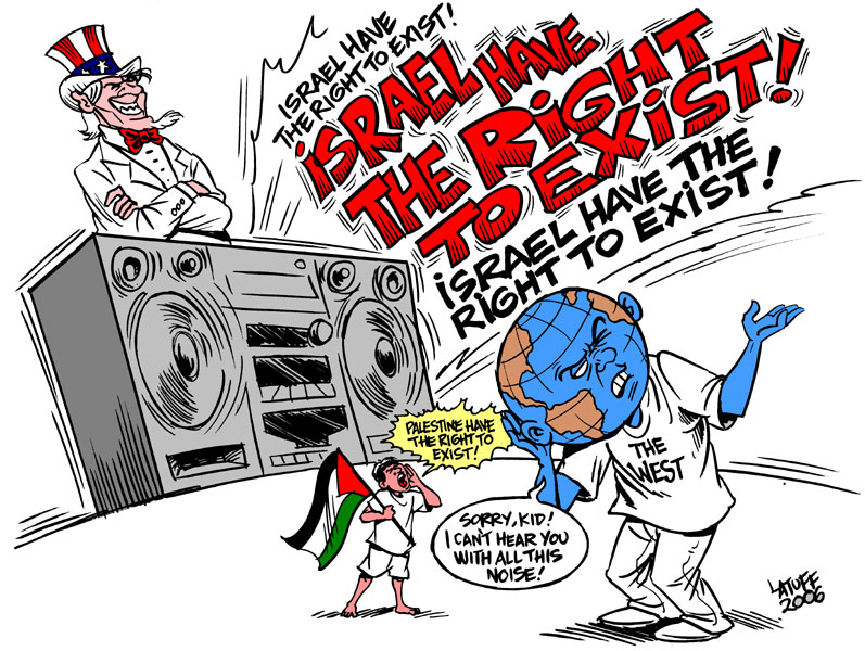 Israel have the right to exist by Latuff2