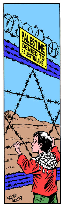 Israeli Apartheid by Latuff2