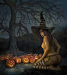 Pumpkin Witch Version 2 by cell77