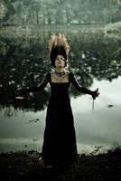 Witch from the lake by dorota-kirie