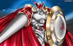 Digimon Digital Monsters_ Dukemon Fanart
