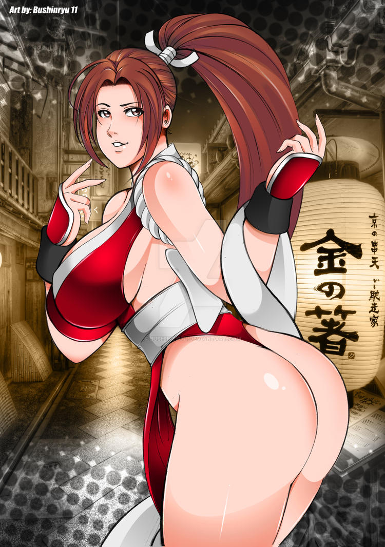 Shiranui Mai Fanart by Bushinryu11