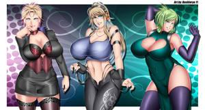 Heroine Squad: Star Sisters by Bushinryu11