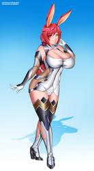 BRE: Jiesel Murasaki Cosplay by Bushinryu11
