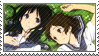 Chitanda and Mayaka Stamp - Hyouka by Kyoukka