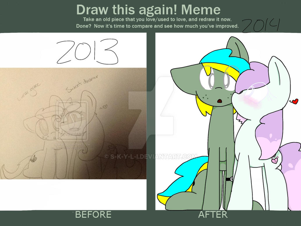 Draw this again meme by S-K-Y-L-I