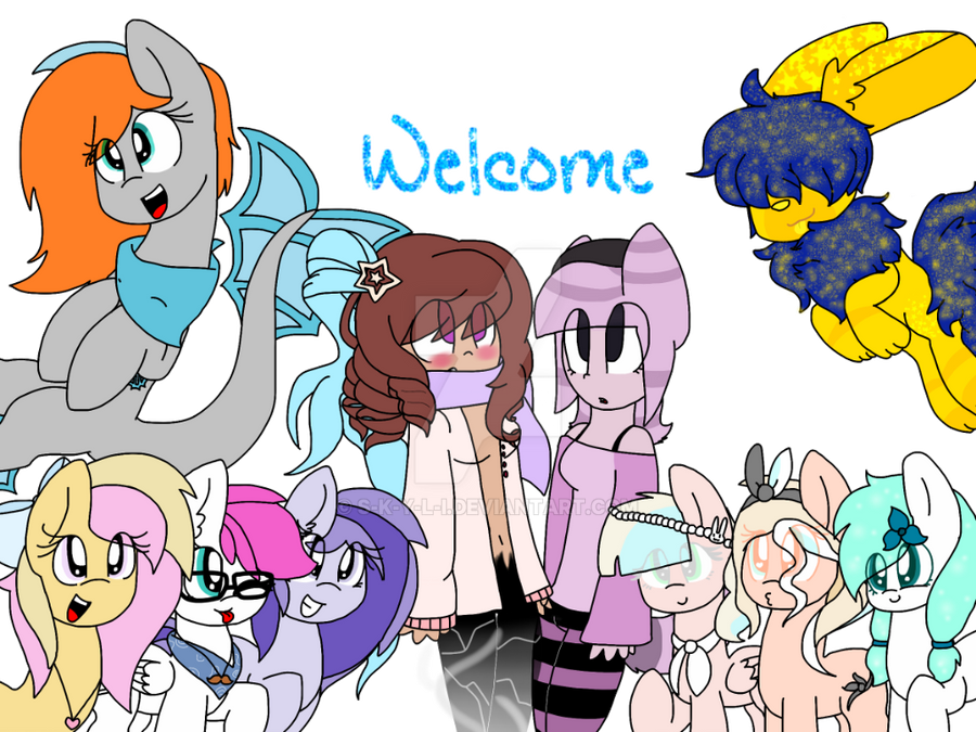 Welcome Vector by S-K-Y-L-I