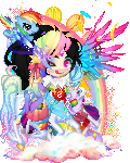 FABULOUS RAINBOW THEMED ADOPT OPEN by S-K-Y-L-I