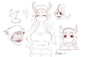 Random Sketches - April 4th 2017