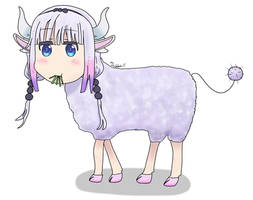 Commission - Sheep Kanna