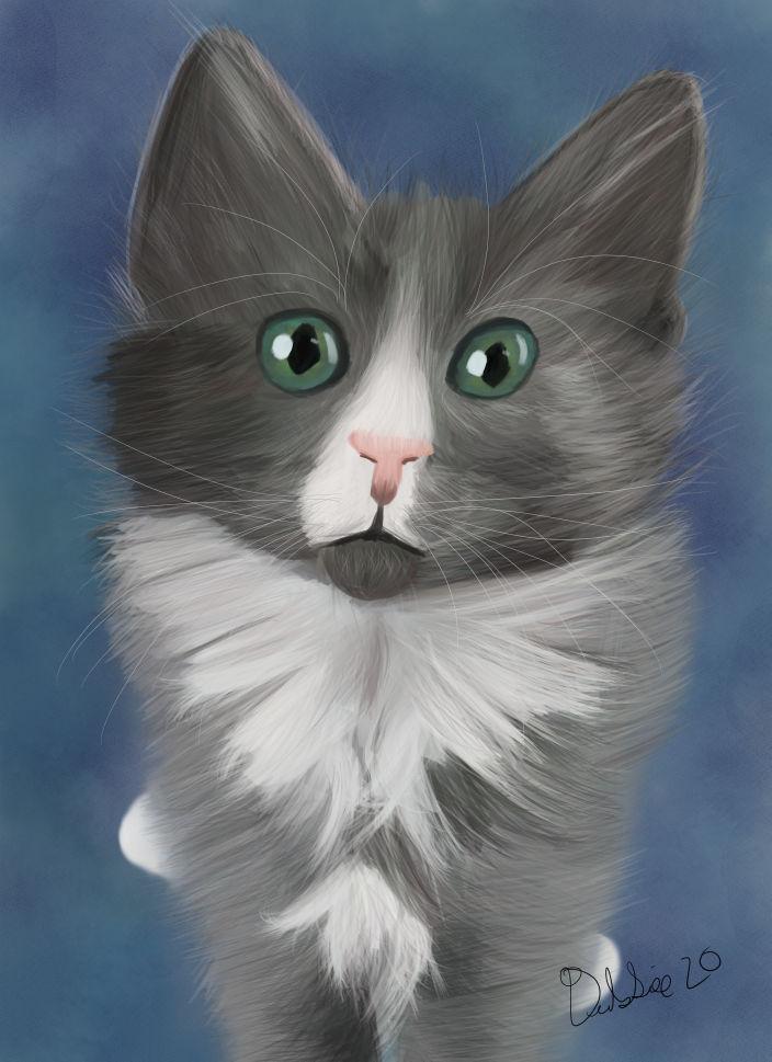 Clyde 6 Weeks Digital Painting