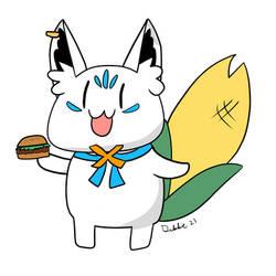 Fubuki Friend (Sukon-bu) with Burger