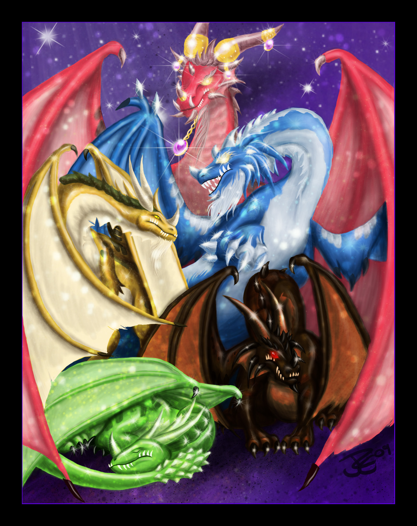 Artistic Aspects : Dragon aspects by redjragon on deviantart