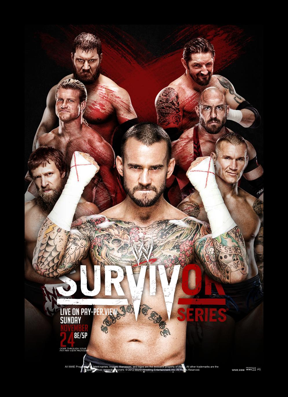 Wwe Survivor Series 2013 Poster Survivor Series...