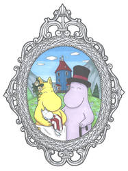 Moomin portrait by ToxStar