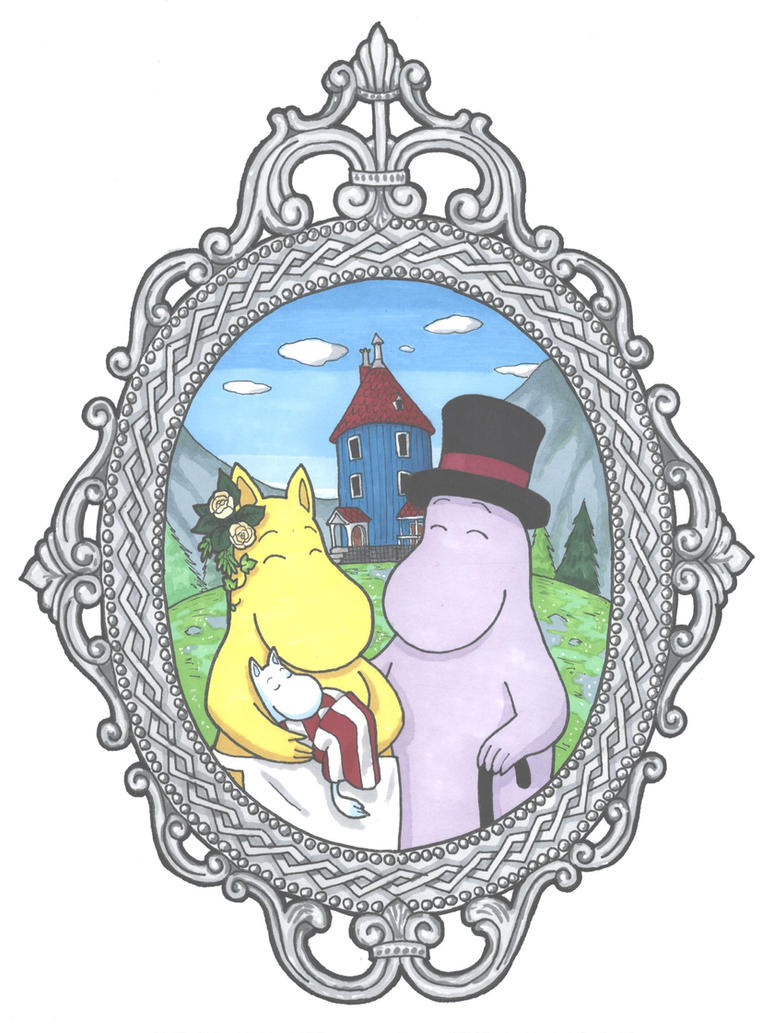 Moomin portrait by toxxsFox