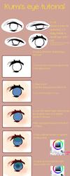 Eye Tutorial by kumirice
