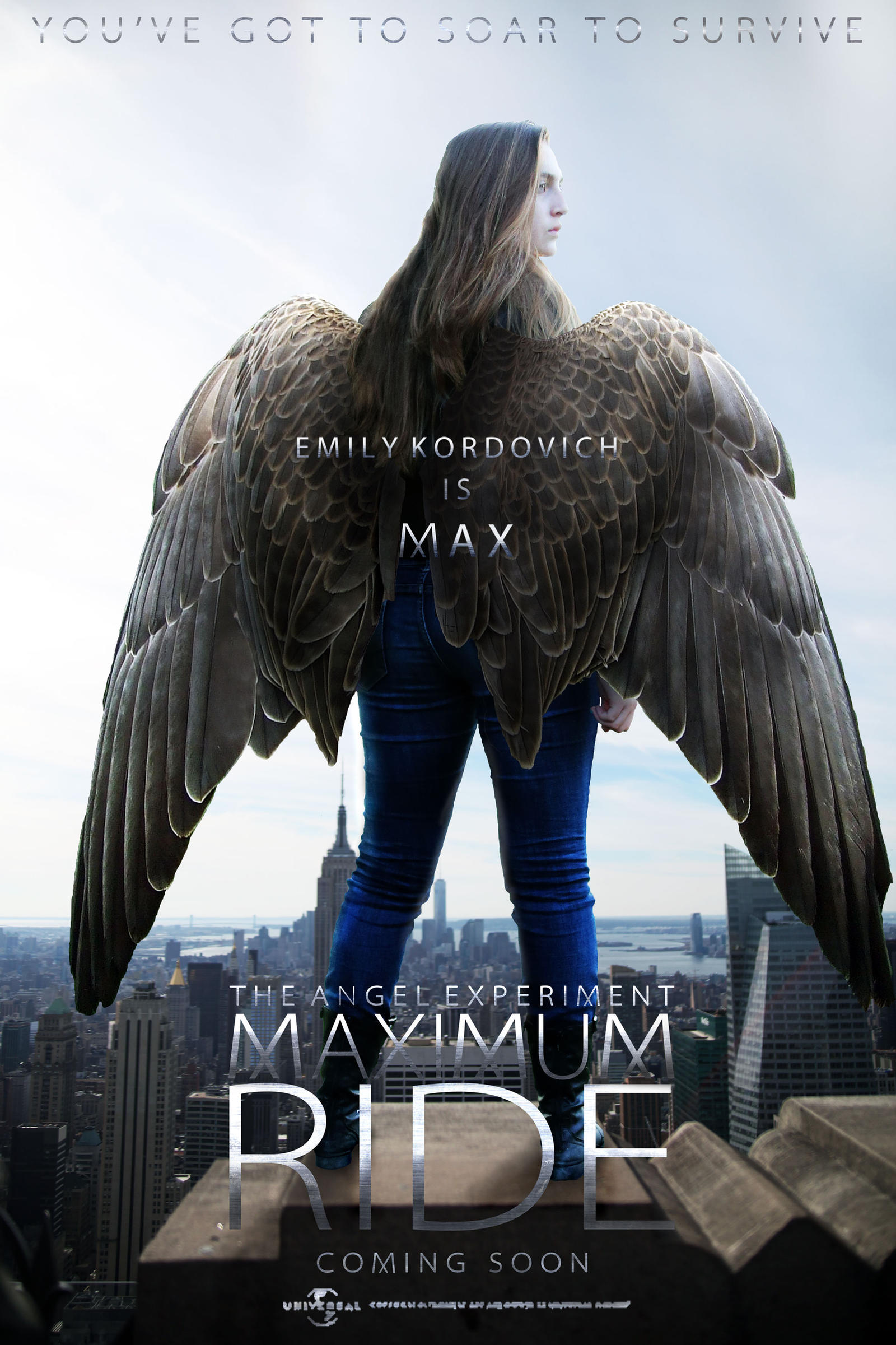 Maximum Ride: The Angel Experiment Movie Poster by ...  Maximum Ride: T...