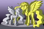 Commission: Petrified Princesses