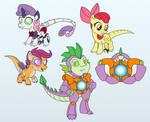 Com: Raptor Cutie Mark Crusaders and Matrix Spike