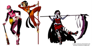 Screwball, Monkeypaw, and Ravenscythe