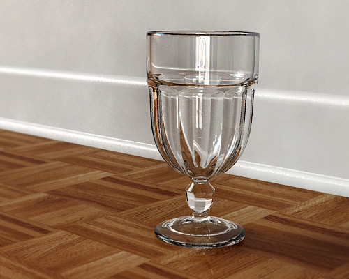 Glass render 2 by Th4d