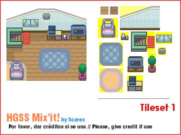 HGSS Mix'it - Tileset 1