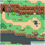 FOSSIL FALLS visual: My Pixel Odyssey #3
