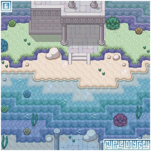 LAKE LAMODE visual: My Pixel Odyssey #6