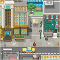 NEW DONK CITY visual: My Pixel Odyssey #10 by WilsonScarloxy