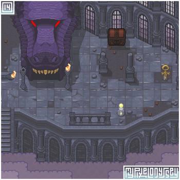 CRUMBLEDEN visual: My Pixel Odyssey #14 by WilsonScarloxy