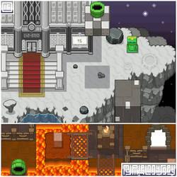 HONEYLUNE RIDGE visual: My Pixel Odyssey #16 by WilsonScarloxy