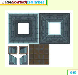 025 - Dungeon tileset by WilsonScarloxy