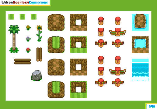 040 - Green Hill Zone tileset