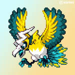 083 - Electric/Flying type Ho-Oh