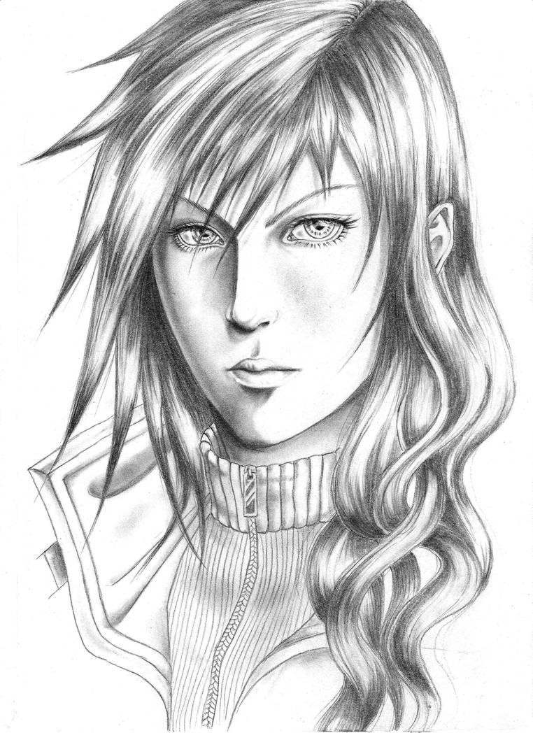 Lightning Dark Portrait