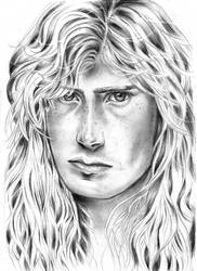 Dave Mustaine Portrait