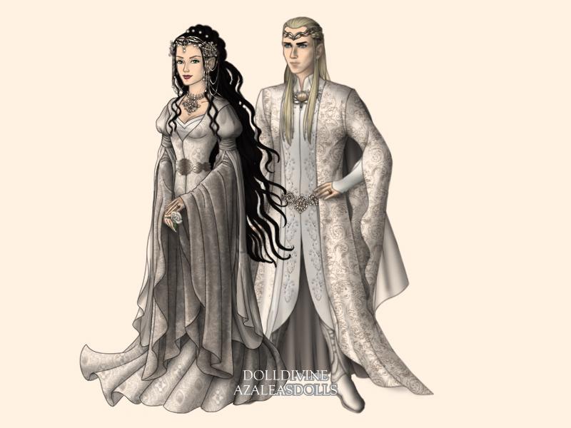 Adlanniel and Legolas' Wedding by Azukiel on DeviantArt