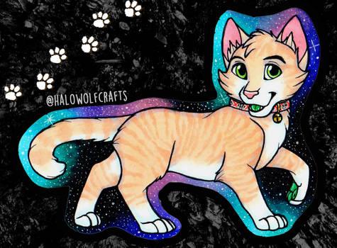Cheesy the Cat Chibi