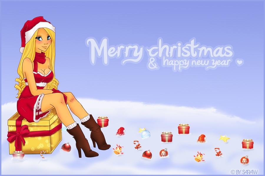 Lourya christmas by Sara-Kuan