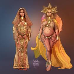 Beyonce Grammys by sarakuan