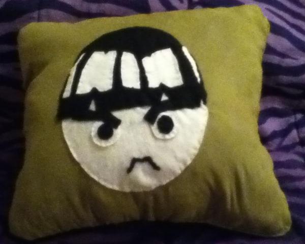 Rock Lee Pillow by YamakaiYoko