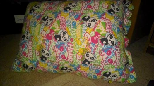 Panda Pillow by YamakaiYoko