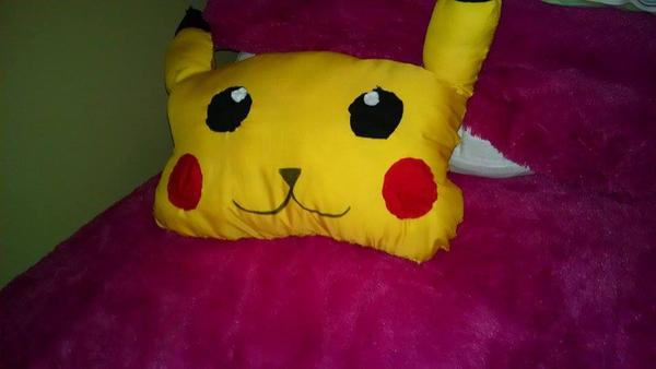 Christmas Pikachu Cushion Pillow by YamakaiYoko