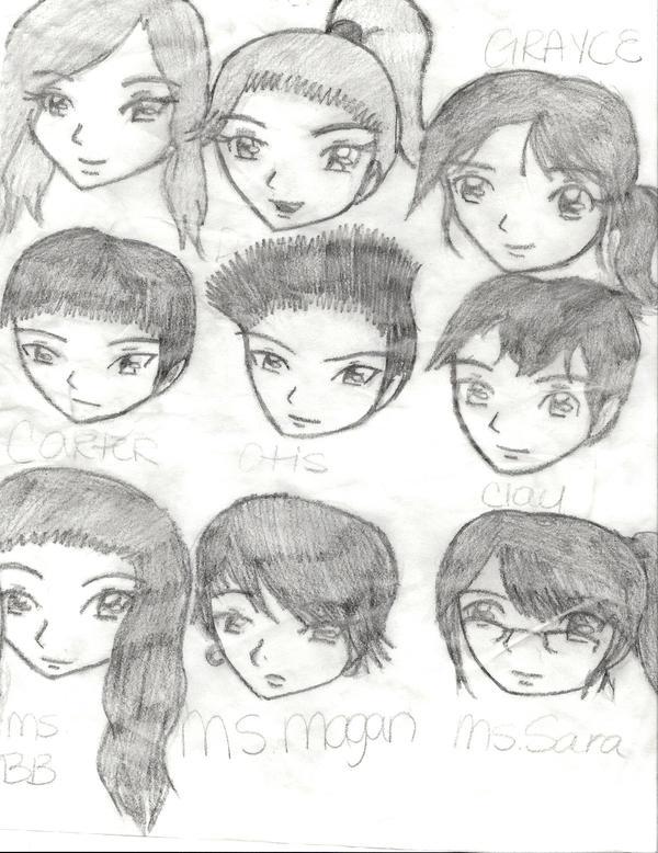 Pre K Doodles by YamakaiYoko