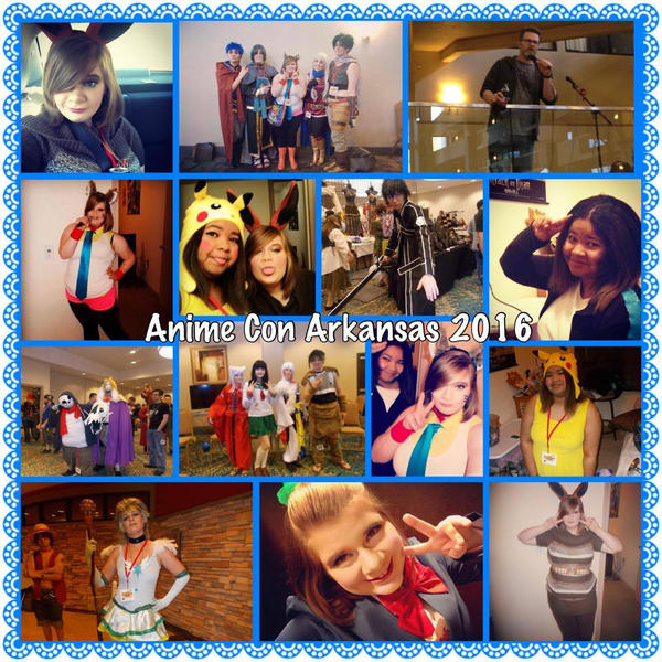 Anime Con Arkansas 2016 by YamakaiYoko