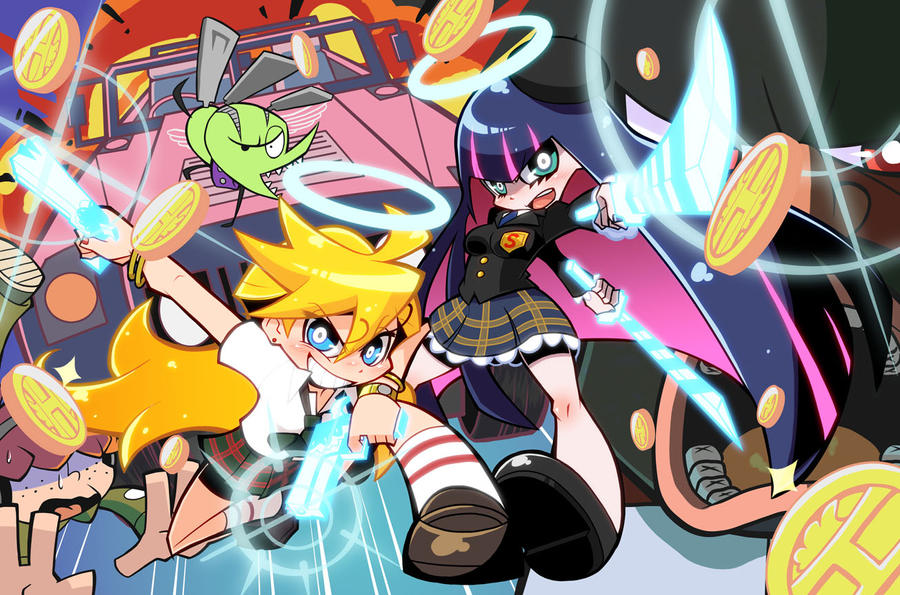 Panty and Stocking by soxtin